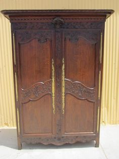 French Antique Armoire Wardrobe Normandy Antique Bedroom Furniture from mrbeasleys on Ruby Lane