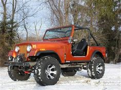 1979 CJ7- I learned how to drive on this! Will own one someday!