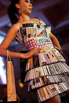 recycled dress..