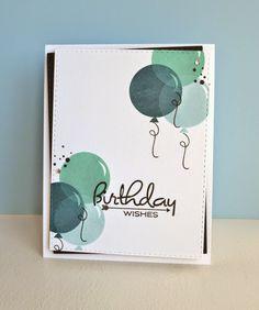 K and R Designs: Masculine birthday card. PTI birthday style