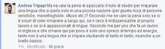 Ersilio Gallimberti: Andrea Tripepi, il pseudo-scrittore, è inequivocabilmente malato di mente..