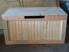 Pine Storage Chest Or Childs Toy Box