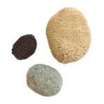 free knitting pattern for pebbles Knitting Patterns Free, Knit Patterns, Free Knitting, Free Pattern, Yarn Sizes, Knitting Books, Yarn Bombing, Yarn Needle, Crochet Designs