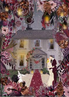 Irish Christmas wedding