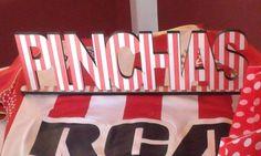 Cartel decorado sobre #camiseta #pincha