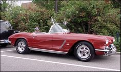 1962 C1 Corvette.  Great color.  Great rims.  Classic Style.
