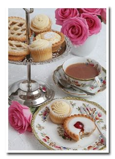Tea Party for 80th B