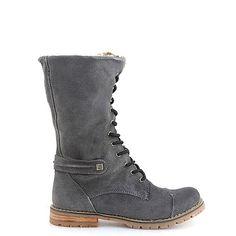 GHETE PIELE NATURALA GRI  169,0 LEI Lei, Combat Boots, Army, Shoes, Fashion, Gi Joe, Moda, Zapatos, Military