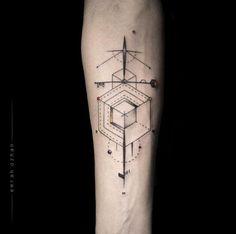 coolTop Geometric Tattoo - 40+ Geometric Tattoo Designs For Men And Women - TattooBlend
