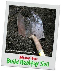 Building Healthy Soil | thegardengeeks
