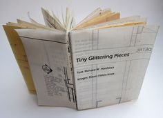 Features the work of writer Richard W. Uses salvaged blueprints. Part of the Sunderland Book Project, curated by Theresa Easton. Sunderland, Book Projects, Felicia, Bookbinding, Zine, Things That Bounce, Dawn, Writer, Books
