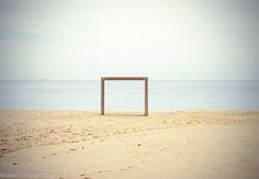 Sea Goal - Knokke Beach by Guillaume Carels