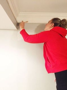 adding wainscoting and new paint to our living room, home decor, painting, wall decor