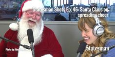 """Santa Claus is our guest on this week's """"Statesman Shots"""" and I cannot even tell you how much of a can't-miss this one is. You WILL believe. http://statesmanshots.blog.statesman.com/2014/12/18/statesman-shots-46-santa-claus-on-spreading-holiday-cheer/"""