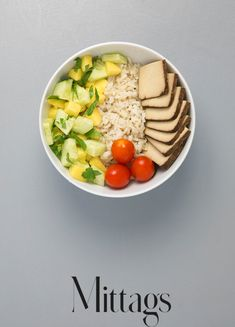 Buddha Bowl mit Tofu 7 Tage Detox Plan, Cobb Salad, How To Plan, Cooking, Healthy, Fitness Workouts, Foods, Snacks, Cake