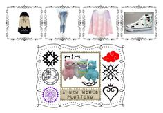 """""""Kawaii"""" by christylovelife on Polyvore featuring WithChic, G-Star Raw, HVBAO and Ciel"""