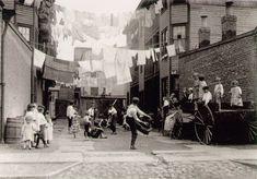1909 Playground in Mill Village by Lewis Hine