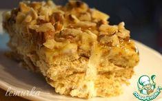 Десерт из сметаны и печенья по-гречески - кулинарный рецепт