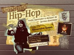 Promotion poster for Hip-Hop Dance classes