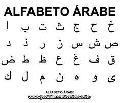 Alfabeto Arabe