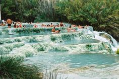 The Natural Jacuzzi, Saturnia, Italy