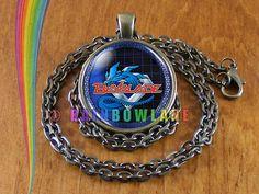 Beyblade Necklace Pendant Jewelry Charm Boys Girls Anime Cosplay Gift #Handmade #Pendant