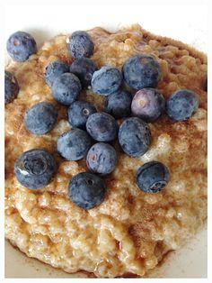 Blueberry, Oatmeal, Brunch, Milk, Fruit, Breakfast, Food, The Oatmeal, Morning Coffee