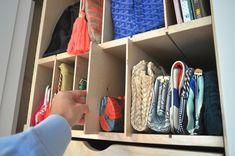 Adjustable handbag storage ideas - Fox Den Blog