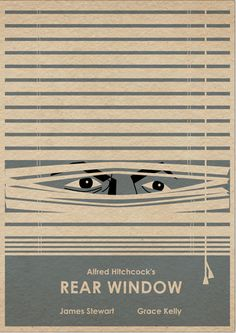 Alfred Hitchcock's Rear Window Film Poster