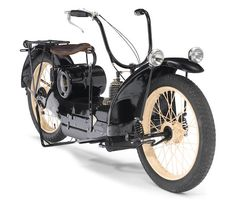 Bonhams Fine Art Auctioneers & Valuers: auctioneers of art, pictures, collectables and motor cars Steampunk Motorcycle, Cafe Racer Motorcycle, Antique Motorcycles, Cars And Motorcycles, British Motorcycles, Beach Highlights, Strange Cars, Bike Engine, Vintage Bikes