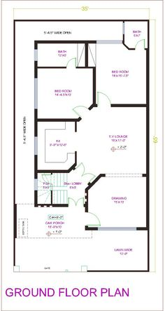 30x60 house plan elevation 3d view draw 30x60 house for 25x30 house plans