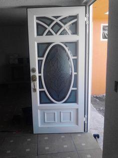 Door Gate Design, Room Door Design, Main Door Design, Modern Tv Wall, Modern Door, Modern Gates, Front Door Entrance, Wood Front Doors, Double Rod Curtains