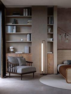 16 ideas for living room shelves unit interior design Classic Interior, Home Interior, Interior Decorating, Interior Office, Decorating Ideas, Living Room Shelves, Living Room Decor, Living Rooms, Bedroom Decor