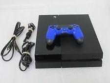 Sony PlayStation 4 CUH-1001A 500GB Jet Black Console   PS4 B