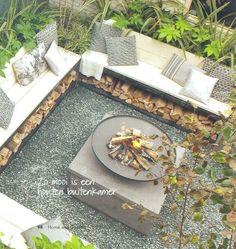 Gemütliche Feuerstelle im Garten DE Yasin Photos – Fireplace Ideas 2020 Fireplace Garden, Cozy Fireplace, Wooden Fireplace, Cottage Fireplace, Fireplace Cover, Victorian Fireplace, Backyard Patio, Backyard Landscaping, Back Gardens