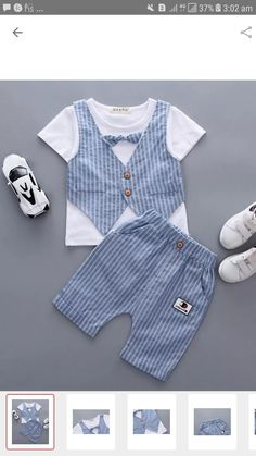 42 Ideas sewing baby boy clothes dresses for 2019 Baby Boy Dress, Baby Girl Dresses, Baby Boy Outfits, Boys Summer Outfits, Kids Outfits, Baby Boy Fashion, Kids Fashion, Sewing Clothes Women, Diy Clothing