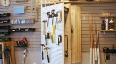 Find some inspiration for organizing your tools with this round-up of storage…