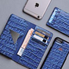 blue S1 ⭐ & S7 Cardholder  Blue croco iphone wallet&case 6/7/6+7+ . #serapaktugleathergoods #blue #croco #iphonewallet #iphonecase #mens #menstyle #luxe #leathergoods #accessories #iphonecase #style #fashion #deriaksesuar #iphonecuzdan #iphonekilif #mens #menstyle #erkekaksesuar #elyapimi