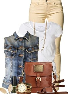 5 casual ways to wear plus size denim vest - plus size fashion for women