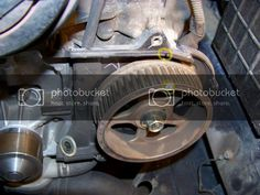 DIY: SOHC Timing Belt Change w/ Pics! | Subaru Impreza GC8 & RS Forum & Community Honda Civic Si, Mitsubishi Lancer Evolution, Timing Belt, Ae86, Nissan Silvia, Nissan 350z, Air Tools, Spark Plug, Amigurumi