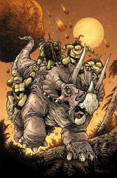 Teenage Mutant Ninja Turtles by David Petersen *