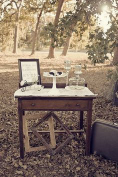 a simple & rustic d.i.y idea for an outdoor wedding
