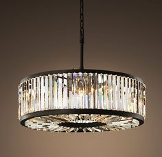 Love!  Timeless and classy. Welles Crystal Chandelier Medium