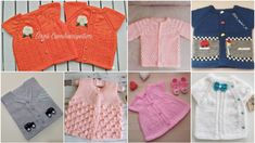 Bebek Yelek Modelleri 40'dan fazla en güzel örnek Baby Vest, Baby Knitting Patterns, Baby Items, Diy And Crafts, Pullover, Sweaters, Knitted Baby, Fashion, Silk