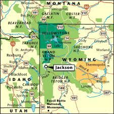 map jackson hole wyoming - Google Search | WEST-6 National Parks ...