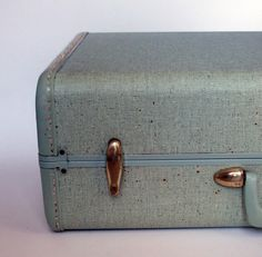 Vintage suitcase. Had this exact one!