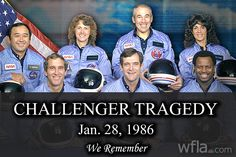 anniversary of the Challenger Space Shuttle tragedy Space Shuttle Challenger, Challenger Space, Space Shuttle Disasters, Christa Mcauliffe, Apollo Space Program, President Ronald Reagan, Hubble Images, Kennedy Space Center, Whirlpool Galaxy