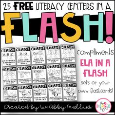 If you're anything like me, you LOVE a good literacy center. You love seeing your kiddos engaged, exploring new skills, and excited about their learning. You're also probably like me in that you're a big fan of centers that are easy to introduce, skill-oriented yet basic enough for kindergarten and first grade students to complete …