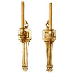 Pair of American PAUL FERRANTE Neoclassical Giltwood One-Light Sconces Paul Ferrante Inc. (American, 1962-present) Model: Stickley 1037. Finished in 22k gold leaf. Neoclassical antique style. Provenance: from a grand Aspen, Colorado house decorated by famed American interior designer David Easton. Late 20th century Colorado Homes, Aspen Colorado, American Interior, Late 20th Century, Neoclassical, One Light, Gold Leaf, Sconces, Interior Design
