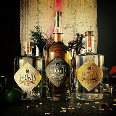 3 Howls Distillery on Packaging of the World. fun liquor #packaging PD